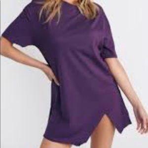 "Tobi ""Over You"" purple t-shirt dress"
